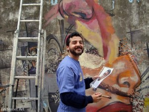 Ever Argentina street artist