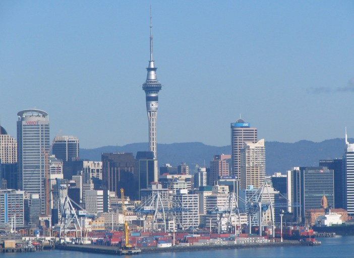 Auckland Sky Tower New Zealand