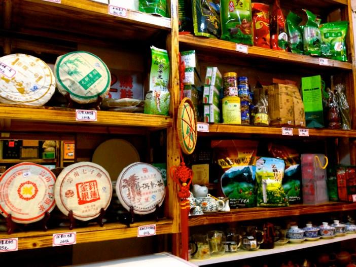 Guangzhou China tea shop 2