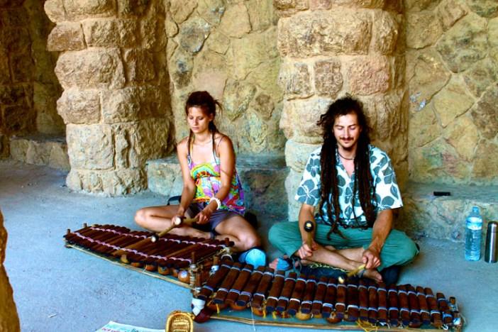 barcelona spain accordian 1