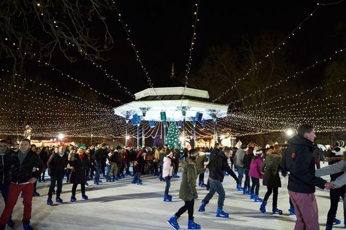 london england hyde park christmas winter holiday 1