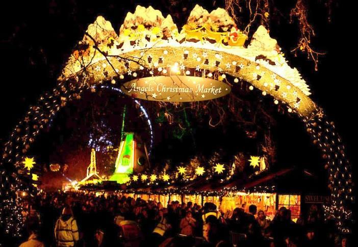 london england hyde park christmas winter holiday 4