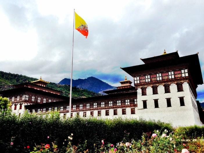 bhutan palace thimphu