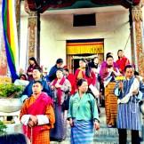 Buddhist chants for the rinpoche (reincarnated lama)