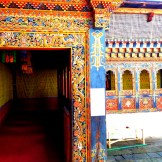 Colors at Buddhist University in Thimphu