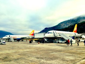 druk air bhutan airport