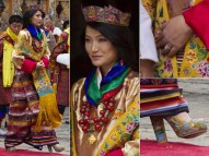 10. Bhutan is known for its intricate and vibrant textile work. Everything the Queen wore on her wedding day is now in an exhibition at the Textile Museum in Thimphu.