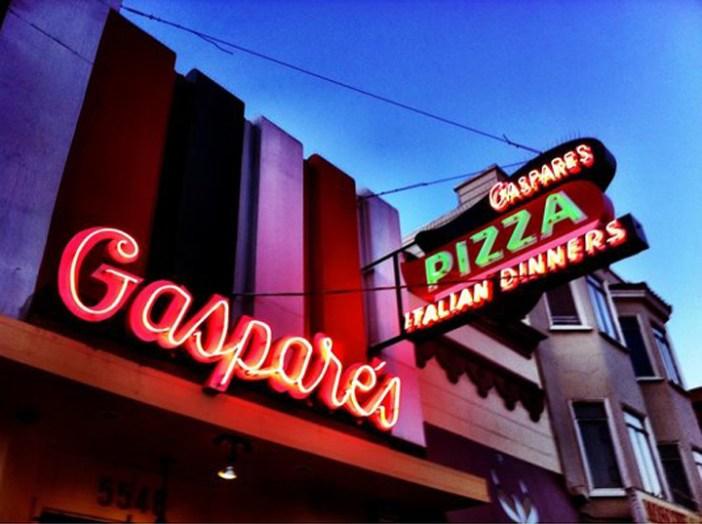 Gaspare's pizza San Francisco