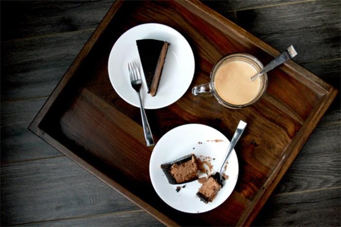 chocolate bailey's cheesecake