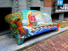 SEE - Walk around and check out Amsterdam's vibrant street art scene.