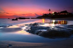 """Elizabeth Gilbert fell in love finally in Bali at the end of """"Eat Pray Love,"""" spring in this gorgeous destination includes a breathtaking sunset."""