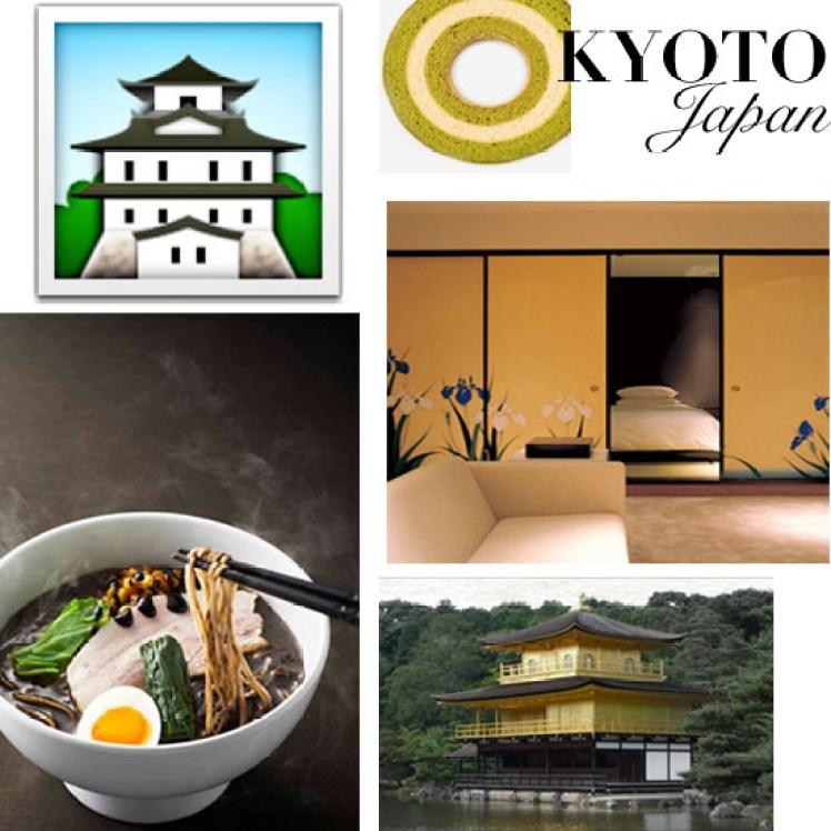 Travel Like Emoji Kyoto, Japan