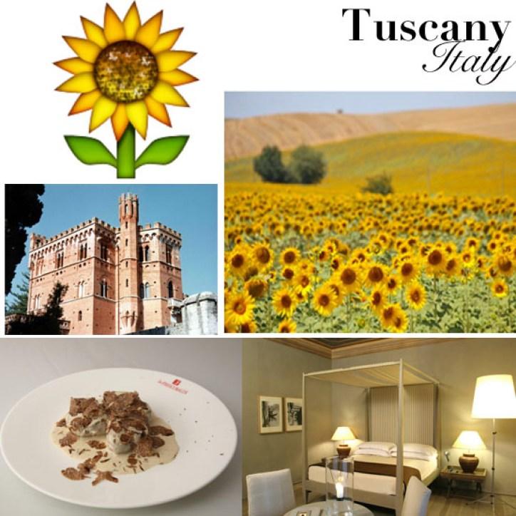 Travel Like Emoji Tuscany, Italy
