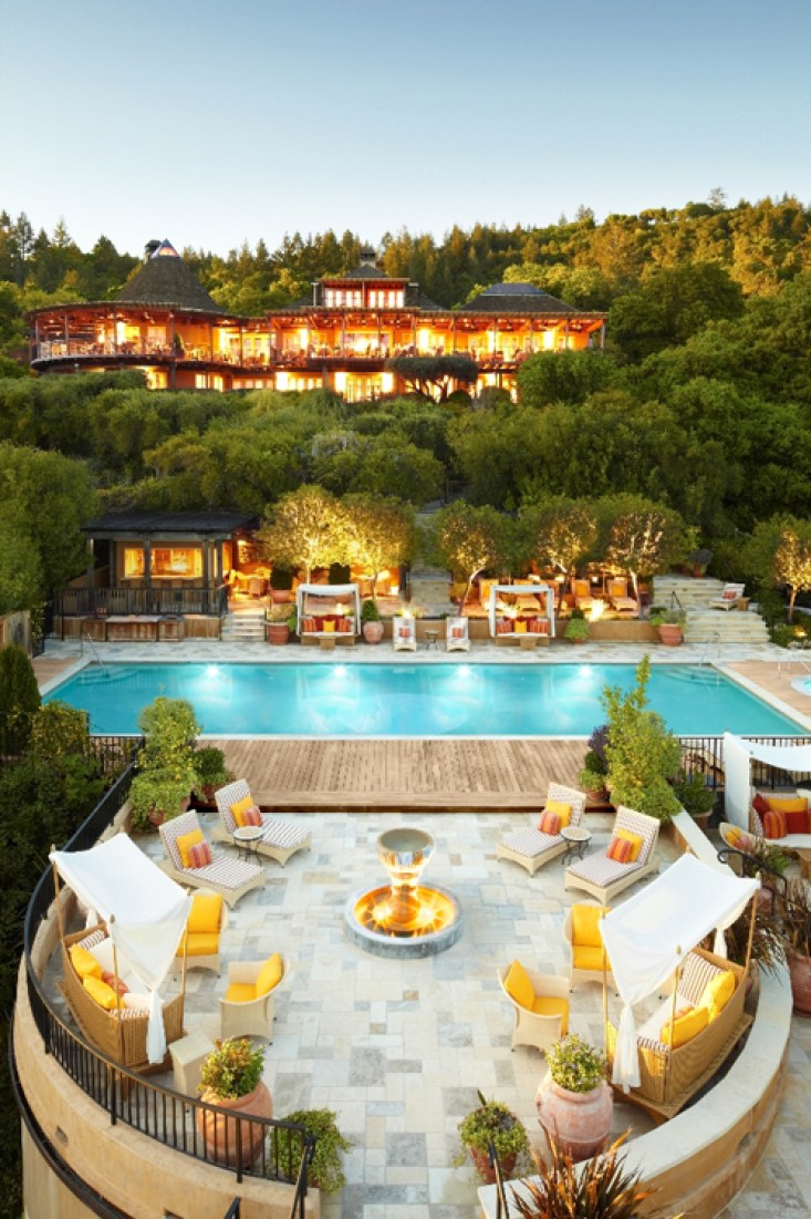 Auberge Soleil hotel resort Napa California