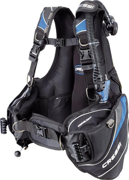 Cressi Travelight scuba diving gear