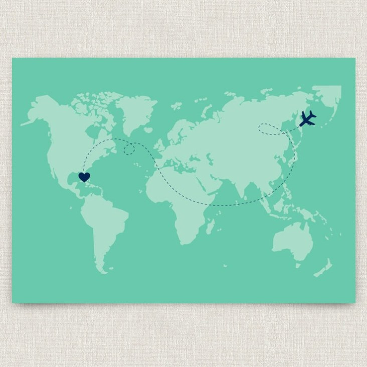 8 Destination Wedding Invitations For REAL Jetsetters