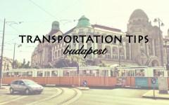 Transportation Tips Budapest