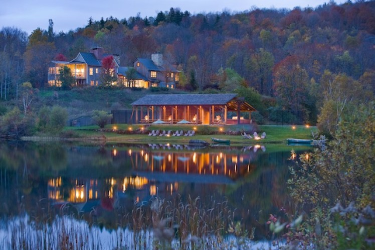 Twin Farms Vermont Hotel Resort