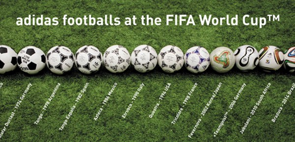 1 Lineage of Adidas World Cup Soccer Ball