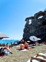 The beach of Cinque Terre