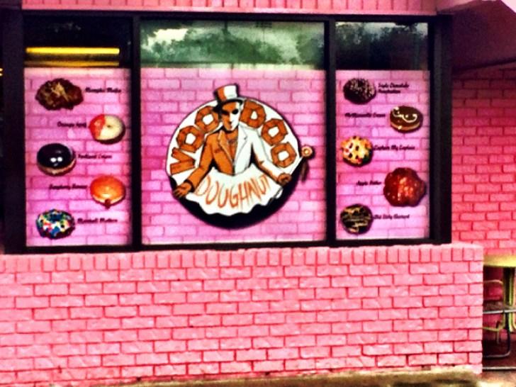 voodoo donuts Portland Oregon