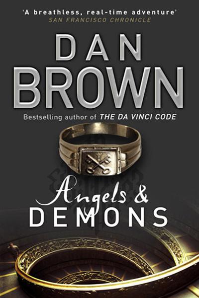 Dan Brown Angels & Demons book cover
