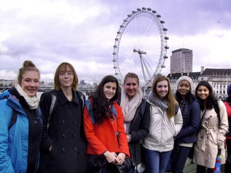 Dawn Fleming study abroad London