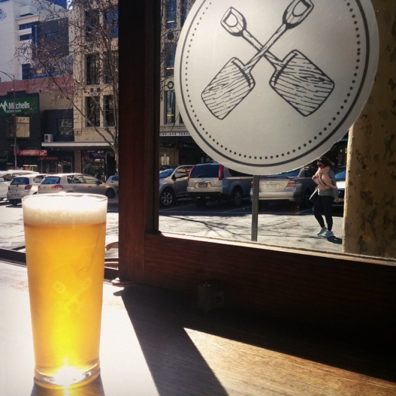 Portland Hotel bar Melbourne Australia