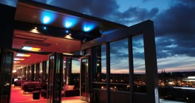 Cloud 9 Sky Bar & Lounge: Want a bar with DJ spinning while you groove in front of the best view in Prague? Cloud 9 sits on top of the Hilton Hotel. MAP