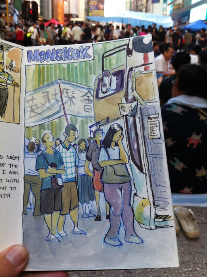 Hong Kong Luis Simone World Sketching Tour 2