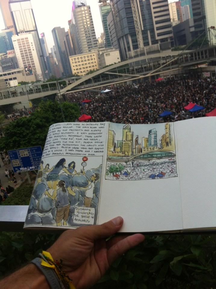 Hong Kong Luis Simone World Sketching Tour 3
