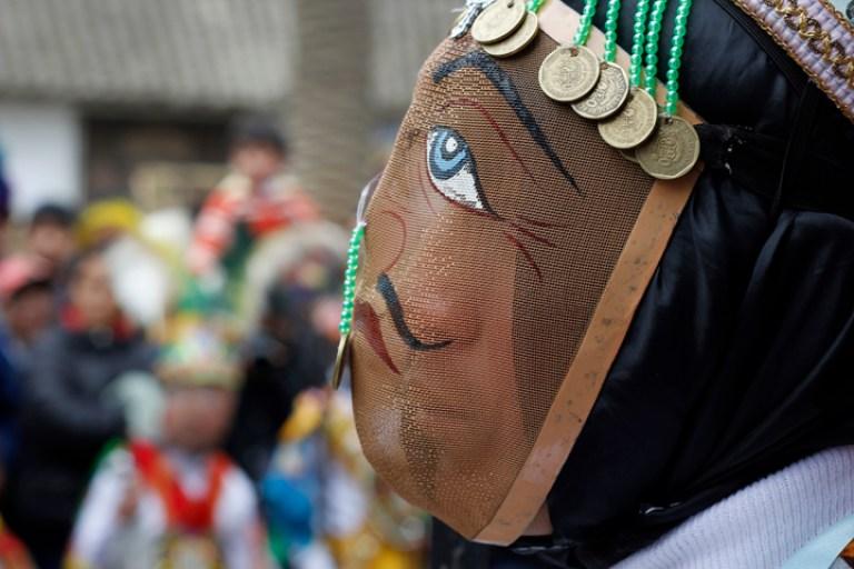 Travel Song Peru documentary mask
