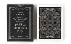 Playing Cards by Misc. Goods Co: Tyler Deeb was a graphic designer who ditched his salaried gig to work freelance on projects he was passionate about. When the work dried up, he started to design playing cards to keep his skills sharp… and then didn't stop. Soon he had a full-fledged design company, offering his custom designed cards and more. $12, available at Bespoke Post.