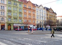 """Prague 4: Recognized as a working class district, not many tourists flock to Prague 4. You may see """"panelaks"""" which are residential towers from the Soviet era. In terms of lodging, you'll find lower budget hostels and smaller hotels here. (MAP (Photo credit: Wikimedia.org)"""