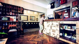 Prague 7: Sir Toby's Hostel is fit for bohemian rockstars and loud partyers. It's the perfect lodging for budget travelers to party in style. (Reserve) MAP