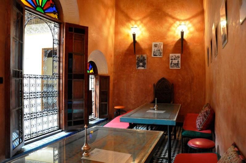 Cafe Clock Fez Morocco