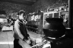 Bhutanese villager's home
