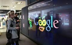 Google Shop London doodle
