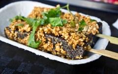 1.Pig blood cake Taiwan food