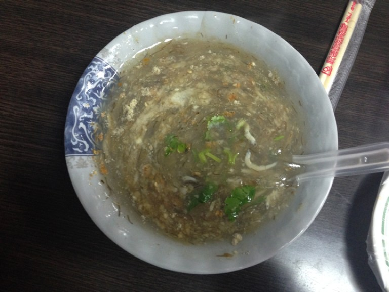3. Anchovy Taiwan food