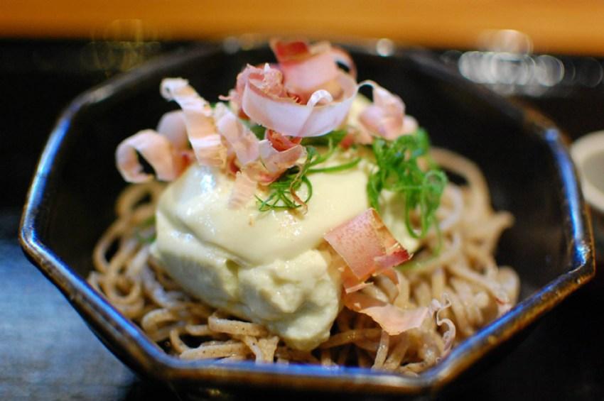Facebook Tamawarai soba restaurant Tokyo Japan