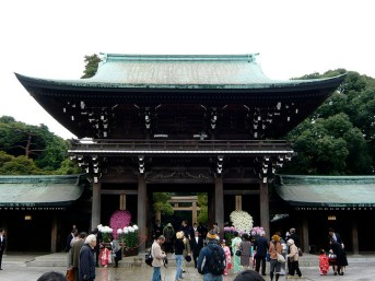 Have a zen moment at Meiji Shrine - Dedicated to the deified spirits of Emperor Meiji and his wife, Empress Shōken, Meiji Shring is now often visited by foreign leaders from around the world. Meiji Shrine is located in a forest that covers an area of 170 acres. This area is covered by an evergreen forest that consists of 120,000 trees of 365 different species, which were donated by people from all parts of Japan when the shrine was established. The forest is visited by many as a recreation and relaxation area in the center of Tokyo. METRO STATION: Harajuku station/JR Yamanote line.(Photo credit: Flickr/Jessica Spengler)