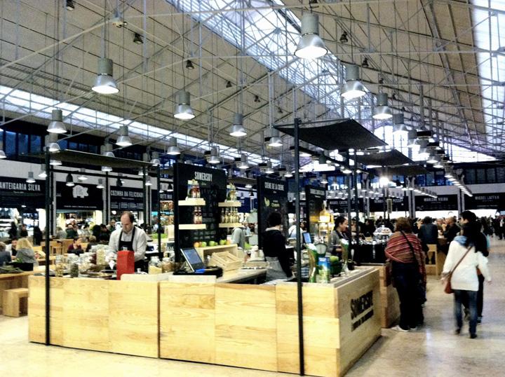 Lisbon mercado da riberia