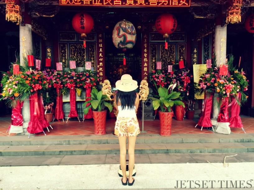 Yilan Taiwan temple