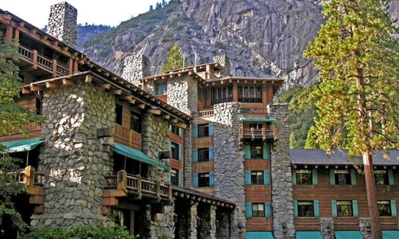 Ahwahnee Hotel Yosemite exterior