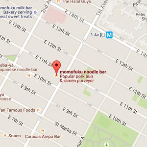 map momofuku restaurant nyc