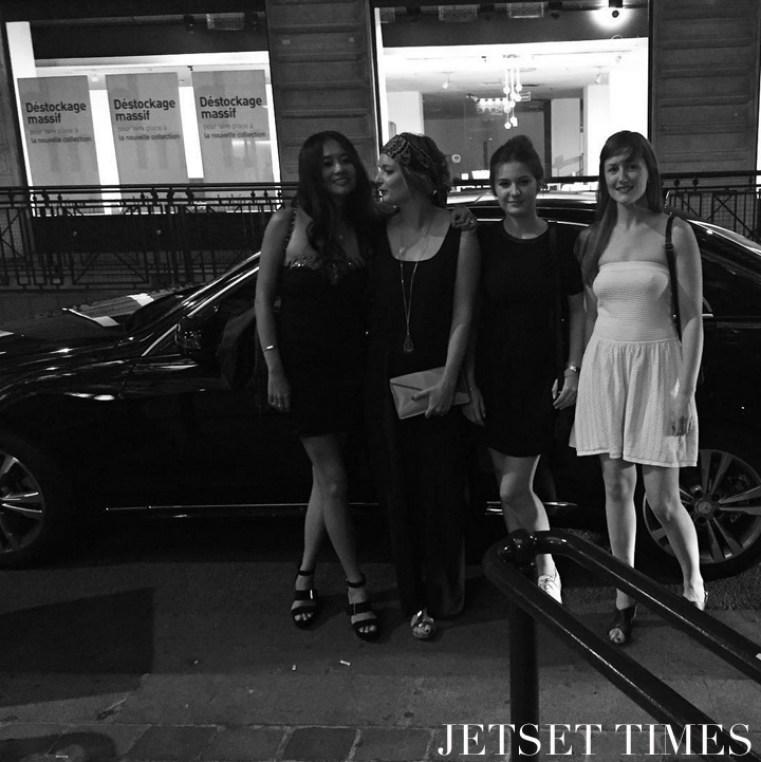 Paris bachelorette party