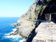 Walkway along the coast
