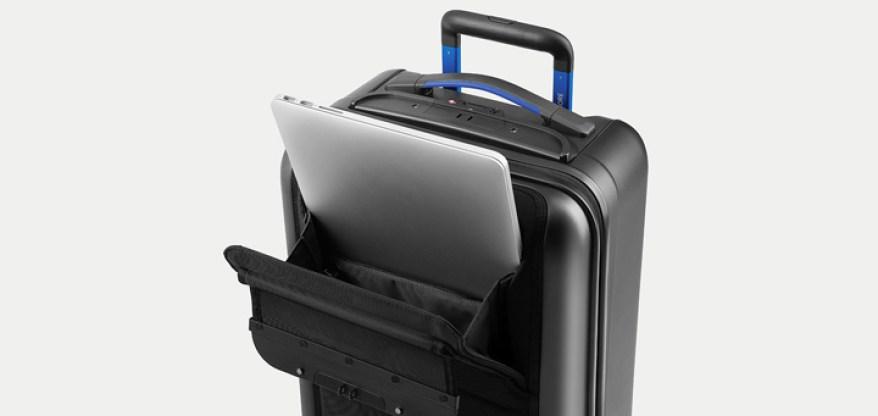 Bluesmart luggage laptop