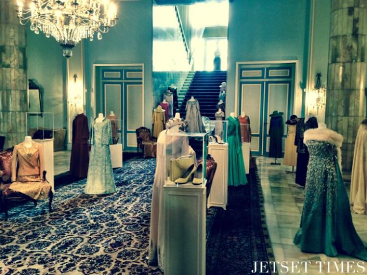 Iran Tehran Sa'dabad Palace dresses